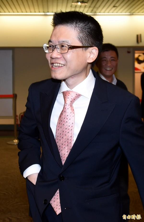 民進黨中常委當選人蔡憲浩。(記者簡榮豐攝)