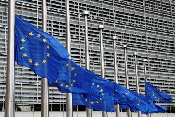 英國即將脫歐,比利時願接手擔任輪值主席國。圖為位於布魯塞爾的歐盟總部。(路透)