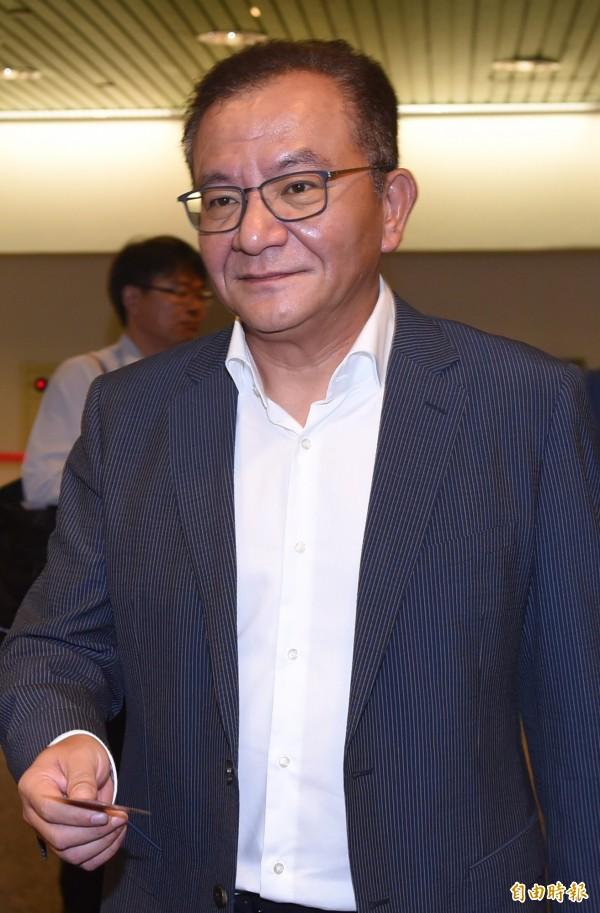 民進黨中常委當選人高志鵬。(記者簡榮豐攝)