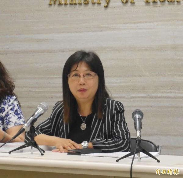 衛福部政務次長呂寶靜說明「長照2.0」計畫方向。(記者林惠琴攝)