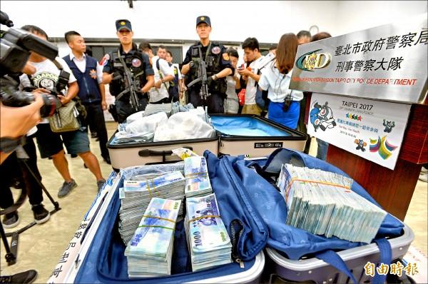 經方共追回6千多萬贓款。(記者林正堃攝)