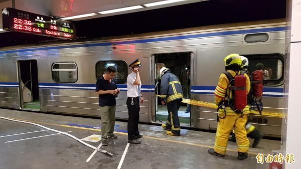 男子林英昌犯下台鐵區間車爆炸案,造成25人受傷。(資料照,記者陳志曲攝)
