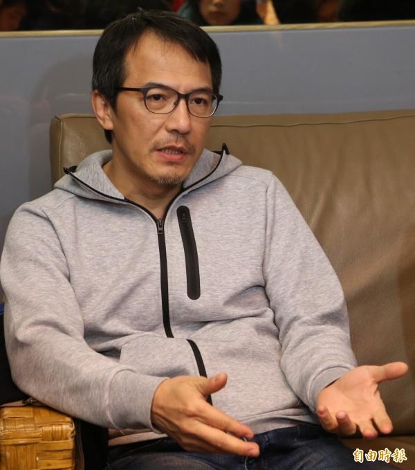 台灣男星戴立忍近日主演中國女星趙薇執導電影《沒有別的愛》,因被中國網友貼上「台獨份子」標籤慘遭換角。(資料照,記者陳逸寬攝)