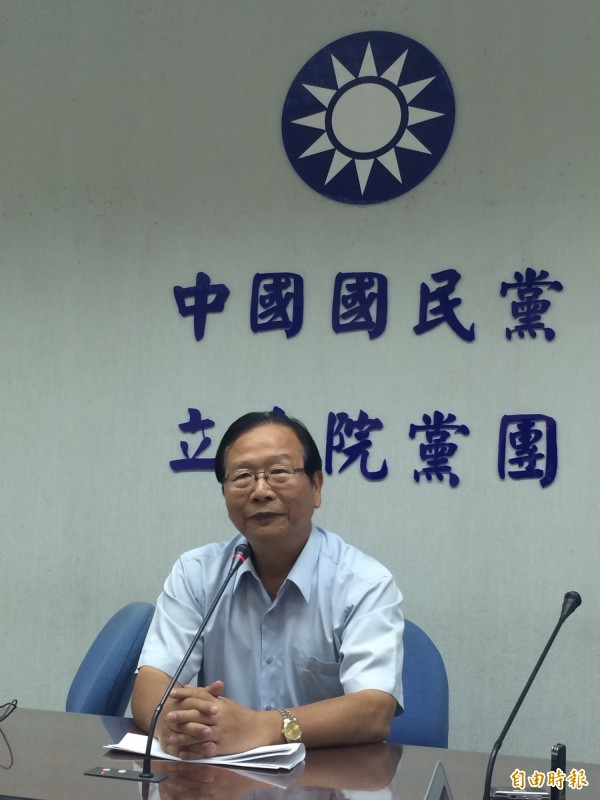 國民黨黨團書記長林德福表示,黨團已取得共識,將不會霸佔主席台。(資料照,記者呂伊萱攝)
