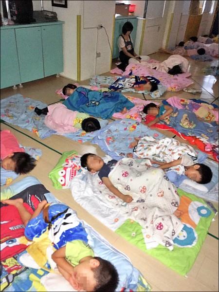 北市「伯克徠教育機構」以補習班名義違法經營幼兒園與安親班。(台北市教育局提供)