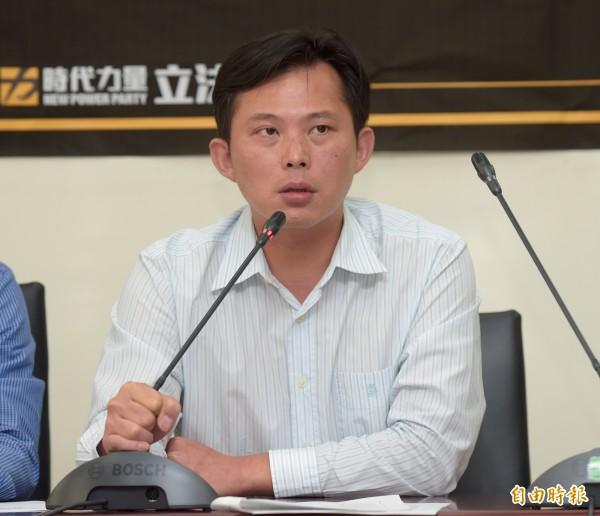 時代力量黨立委黃國昌。(資料照,記者黃耀徵攝)