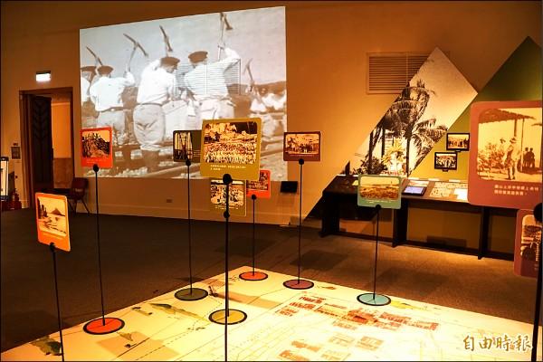 高雄歷史博物館推「時代行旅-1930年遊高雄特展」。(記者黃佳琳攝)