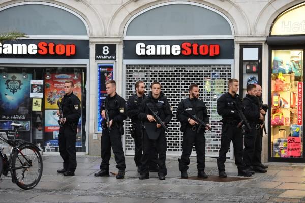慕尼黑宣布進入緊急狀態。(歐新社)