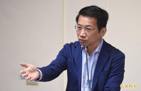 徐永明說,時代力量進立法院不是來和國民黨做關係的。(資料照,記者劉信德攝)