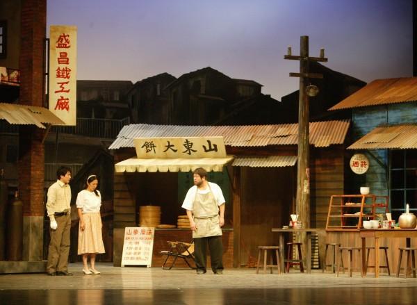 《人間條件3》原跟中國合作單位簽約巡演5年。 (資料照,綠光劇團提供)