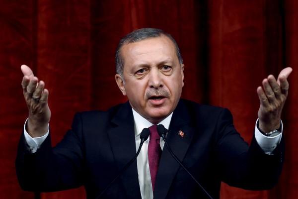 土耳其總統艾多根現在打算修改憲法,把土耳其的軍方與情報部門參謀長直接由他指揮。(美聯社)
