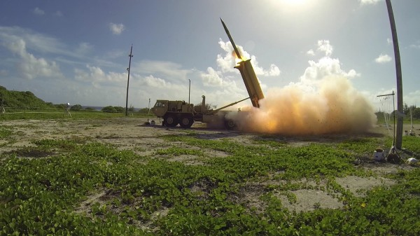 因應北韓核武威脅,美國、南韓日前宣布於南韓部署「戰區高空防禦系統」(薩德,THAAD)後,引發中國強烈反彈。(資料照,法新社)