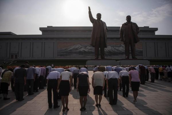 南韓政府今天公布統計數據顯示,今年1至7月間,共有815名北韓人投奔南韓,比去年同期增加15.6%。(法新社)
