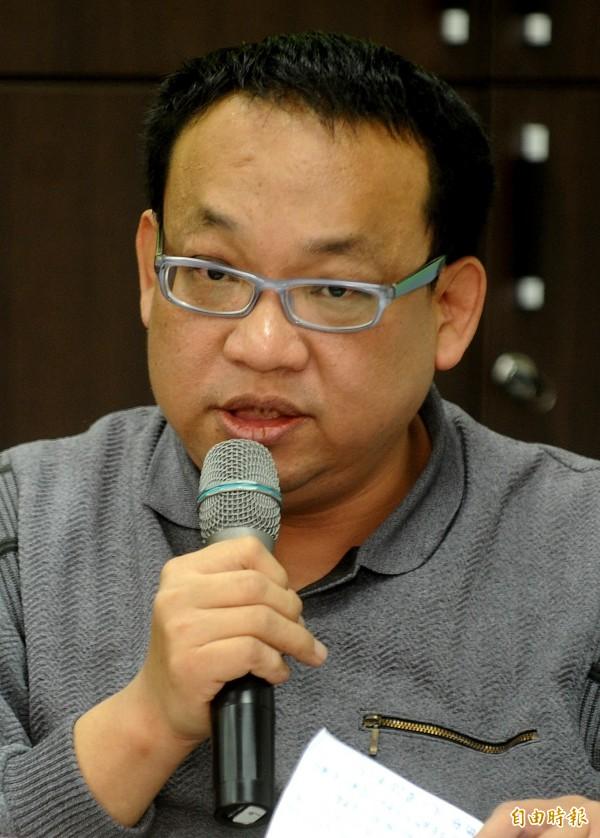 曾任前總統陳水扁辦公室主任的陳淞山(資料照,記者林正堃攝)