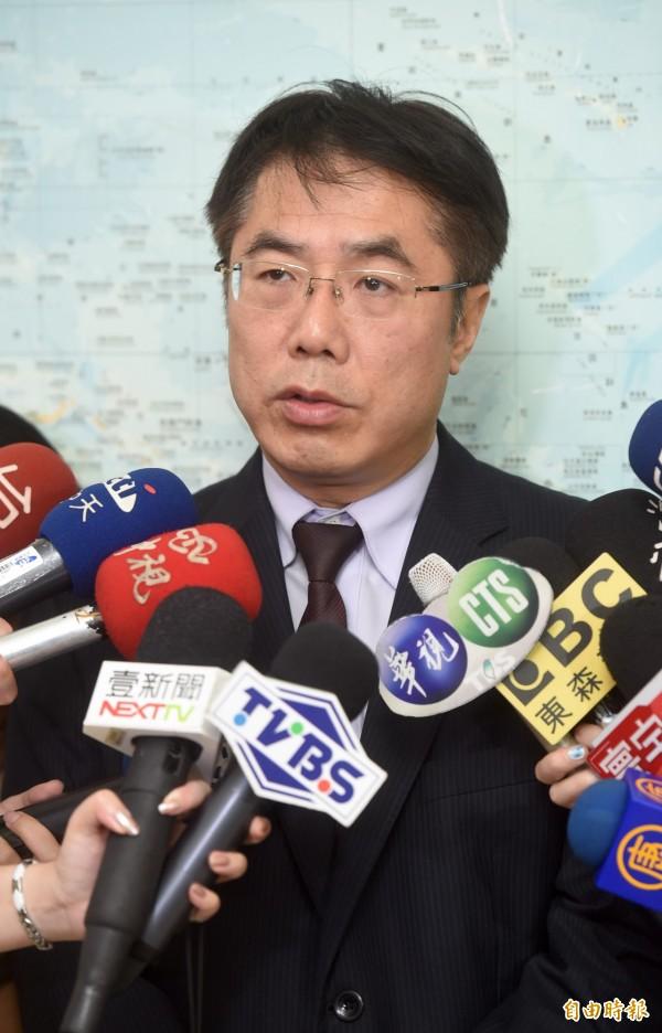 民進黨立委黃偉哲。(資料照,記者簡榮豐攝)