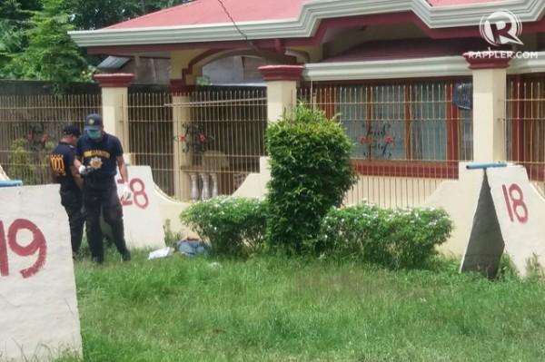 菲律賓中部一名市長傳因涉及毒品貿易,負責捉拿的特勤部隊卻與市長的保鑣爆發槍戰,6名市長保鑣當場喪命。(圖截自Rappler.com)