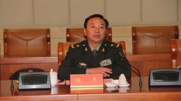 外媒報導指出,中國解放軍陸軍第42集團軍政委陳杰,驚傳於本月5日自殺身亡,各界懷疑應該與反貪行動有關。(圖截自網路)
