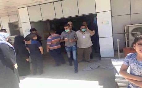 巴格達一間醫院婦產科發生火警,11名嬰兒喪生。(圖擷自網路)