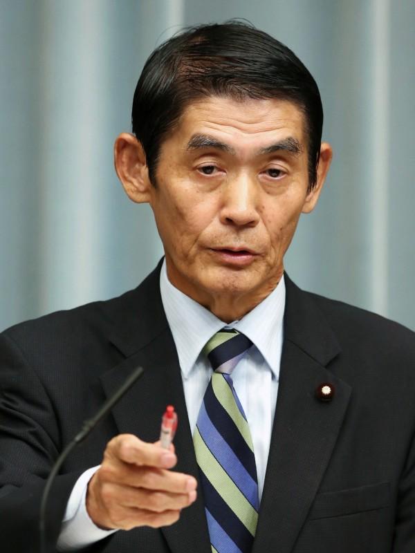日本安倍新內閣的復興大臣今村雅弘今(11)日前往靖國神社參拜,成為改組後首位前往參拜的閣員,恐引發鄰國的不滿。(法新社)