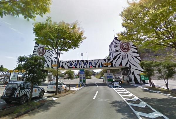 日本群馬野生自然動物園發生意外,一名工作人員遭到黑熊攻擊喪命。(圖擷自Google地圖)