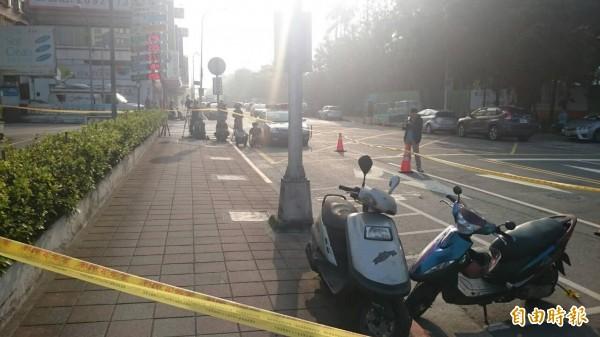 23歲男子裴晨皓疑爭風吃醋,竟在南港街頭附近當街刺死人。(資料照,記者姚岳宏攝)