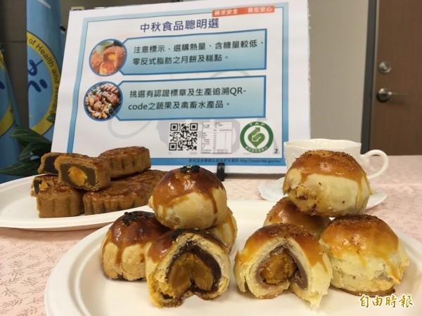 中秋月餅產量驚人,今年食藥署要直接針對源頭,從餡料製造商抽查。(記者林彥彤攝)