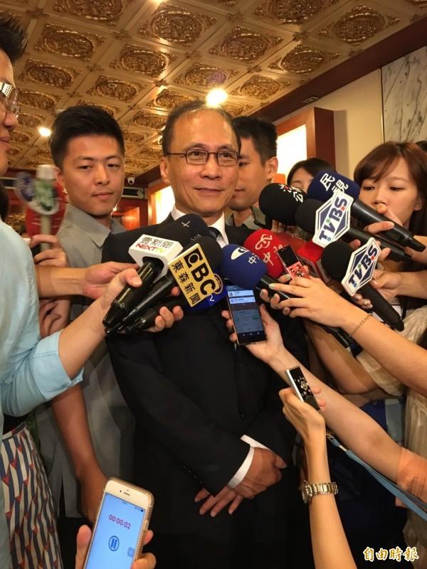 行政院長林全今出席105年扶獎頒獎典禮。(記者楊綿傑攝)