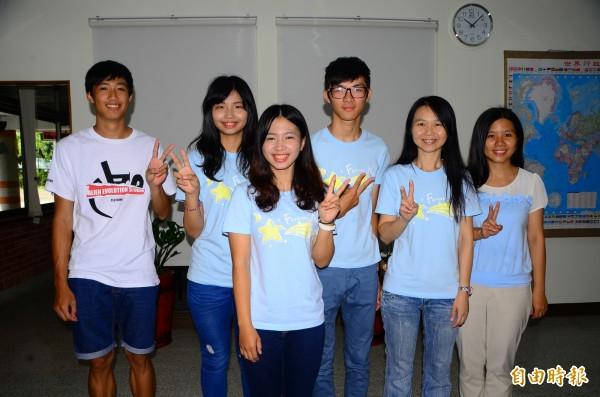 新化、永仁高中校際合作,前往小琉球舉辦夏令營,服務偏區學童。(記者吳俊鋒攝)