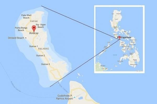 1名在長灘島從事旅遊業的台灣人表示,被捕的台灣人不是長灘島導遊或遊客,平常也跟島上的台灣導遊沒有往來。(圖截自Inquirer)
