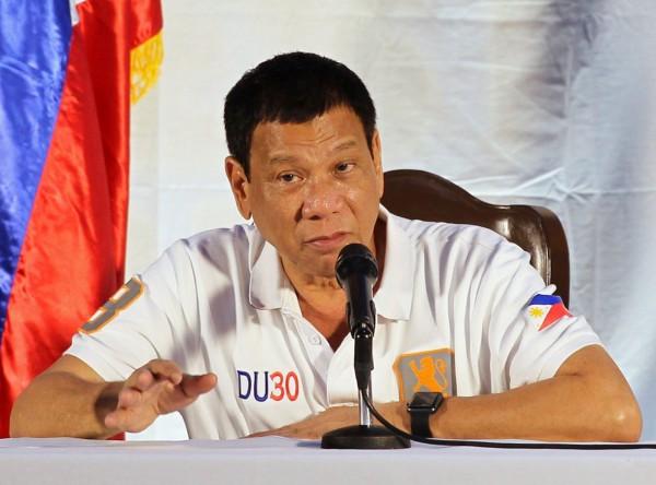 菲律賓總統杜特蒂上台僅數個月時間,便以強硬手段打擊國內的販毒集團。(歐新社)