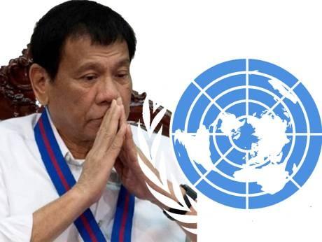 菲律賓總統杜特蒂(Rodrigo Duterte)昨重砲抨擊聯合國,並揚言退聯。但菲國外交部長雅賽(Perfecto Yasay)今天聲明,菲律賓不會退出聯合國。(路透)