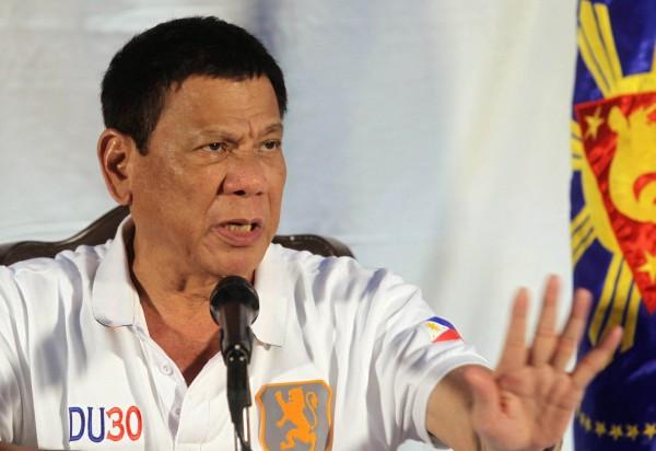 菲律賓總統杜特蒂(Rodrigo Duterte)上台後祭出鐵腕手段掃毒。(資料照,路透)