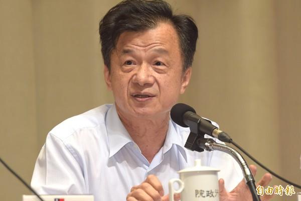 法務部長邱太三於5月赴立院備詢時表示支持訂定「同性伴侶法」。(資料照,記者黃耀徵攝)