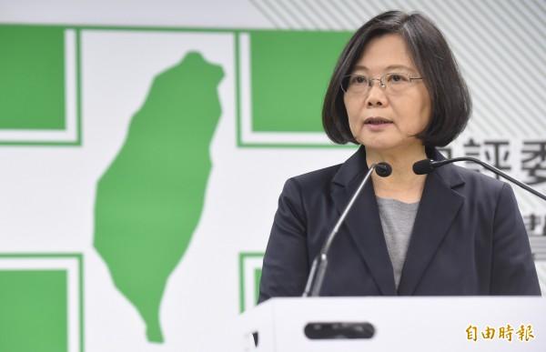 台灣智庫今公布總統就職百天民調。國內各主要政黨的支持度,以民進黨的31%領先國民黨的19%、時代力量的15.5%、親民黨的7.1%。(資料照,記者劉信德攝)