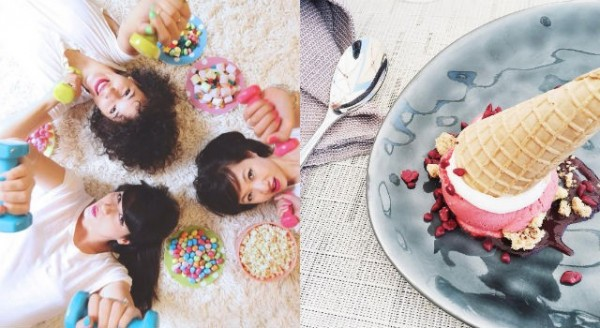 吃完甜點後做到兩件事就會減少脂肪囤積體內!克制不了吃甜點慾望得你一定要知道。(圖擷取自alixcherry instagram)