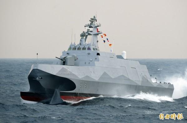 傳蔡英文同意量產飛彈發射車與沱江級巡邏艦。(資料照,記者王敏為攝)
