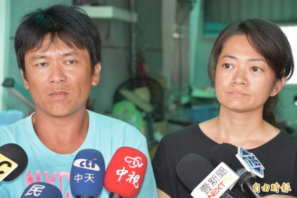 黃文忠家屬對起訴沒有意見,希望軍方儘快完成協商,讓事件落幕。(記者蘇福男攝)
