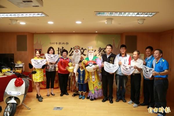 中和區公所將於9月4日於烘爐地舉辦「土地公文化祭」,邀請民眾參加一系列健行、抽獎、擲筊等活動。(記者張安蕎攝)