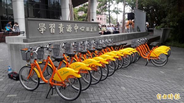 YouBike系統大當機,新竹市約1000人受到影響,市府交通處已要求業者趕緊修復。(記者洪美秀攝)