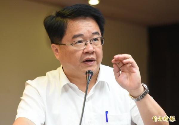 民進黨立委吳秉叡今受訪表示,如果中國一直要對海基會董事長人選挑剔找毛病,這對兩岸關係也非好事。(資料照,記者張嘉明攝)