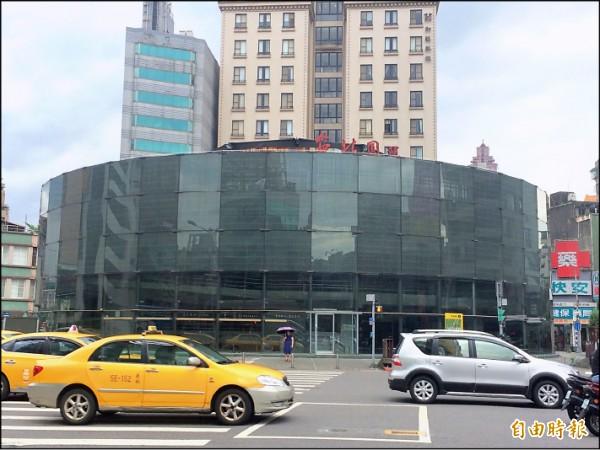 柯市府六月間拍板,拆除建成圓環建築體,並改造為綠地廣場。(資料照,記者郭逸攝)
