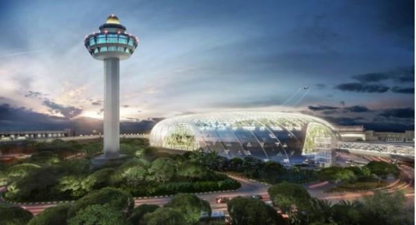 《Instagram》上出現率最高、全球最受歡迎的機場,新加坡的樟宜機場拿下第一名。(圖擷取自樟宜機場官網)