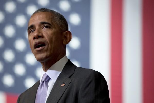 歐巴馬在演講中以台灣為例,強調民主與人權在亞洲的蓬勃發展。(美聯社)