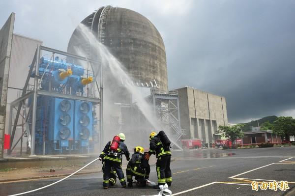 核三廠及恆春地區將在9月12到14日進行核安第22號演習實兵演練。圖為往年狀況。(記者蔡宗憲攝)