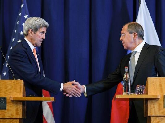 美國與俄羅斯達成敘利亞內戰停火協議,宣布從下週一(12日)起開始停火,並聯手合作對抗激進組織「伊斯蘭國」(IS)。(法新社)