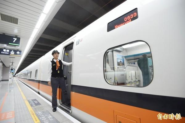 高鐵桃園站稍早發生設備異常,部分列車受到影響。(資料照,記者方賓照攝)