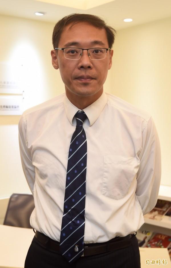 楊偉中指出,當初國民黨買下東京TTD大樓,國貿局曾補助700萬,有國庫通黨庫之嫌。(資料照,記者簡榮豐攝)
