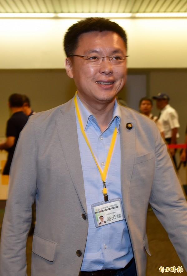 民進黨立委趙天麟當選立院內政委員會召委。(資料照,記者簡榮豐攝)