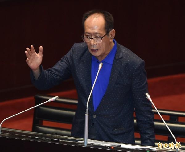 國民黨立委陳超明當選立院內政委員會召委,還抽到排審不當黨產處理委員會預算案。(資料照,記者廖振輝攝)