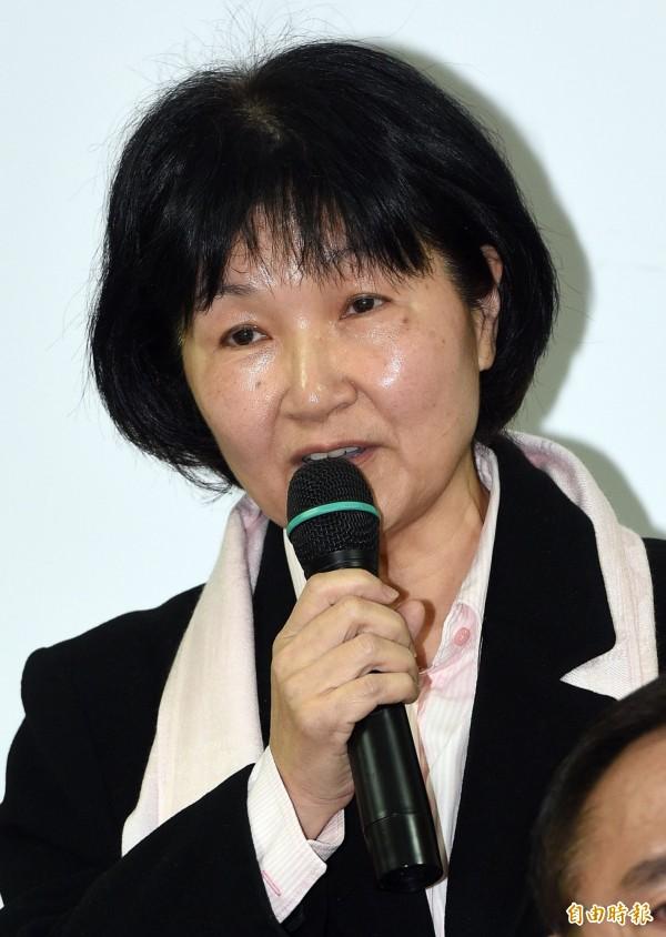 北市法務局長楊芳玲今向市長柯文哲遞辭呈。(資料照,記者王敏為攝)